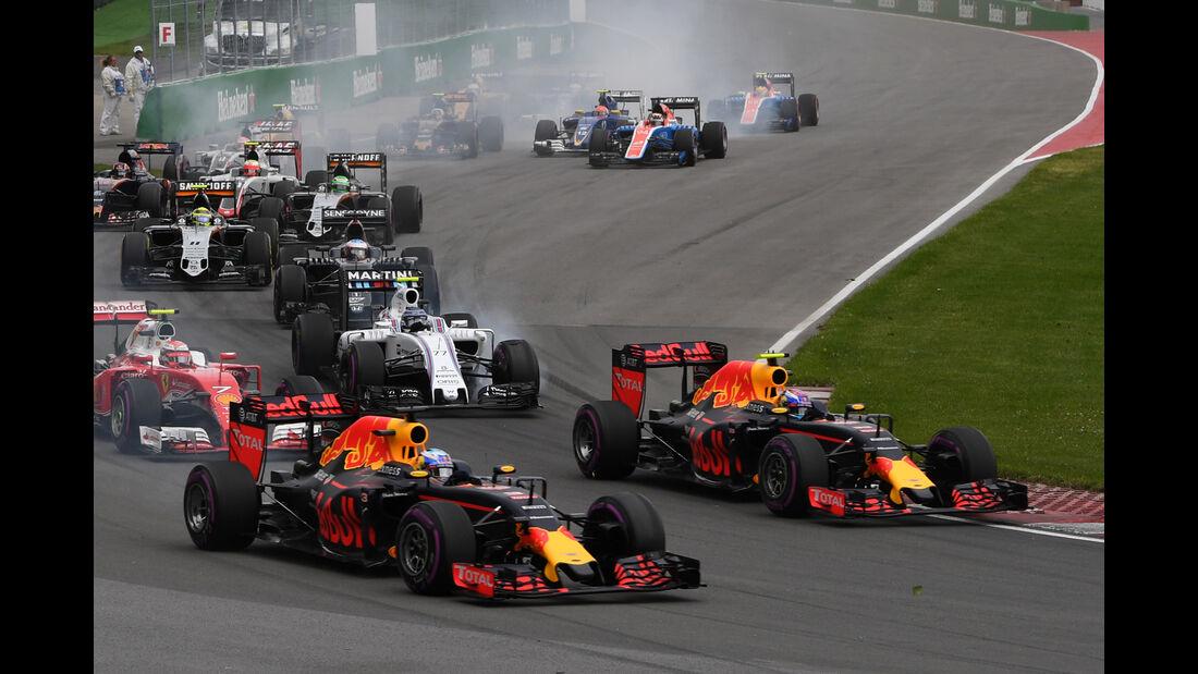 Red Bull - GP Kanada 2016