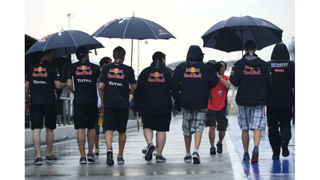 Red Bull - GP Malaysia 2011