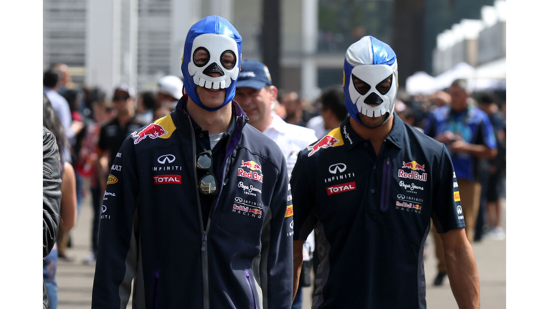 Red Bull - GP Mexiko 2015