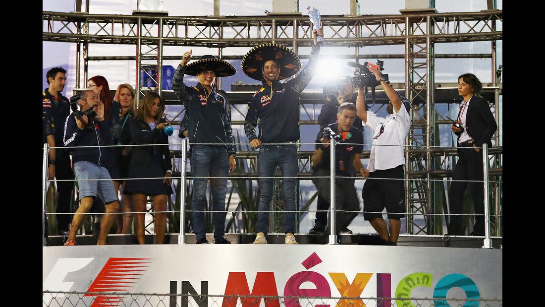 Red Bull - GP Mexiko 2016