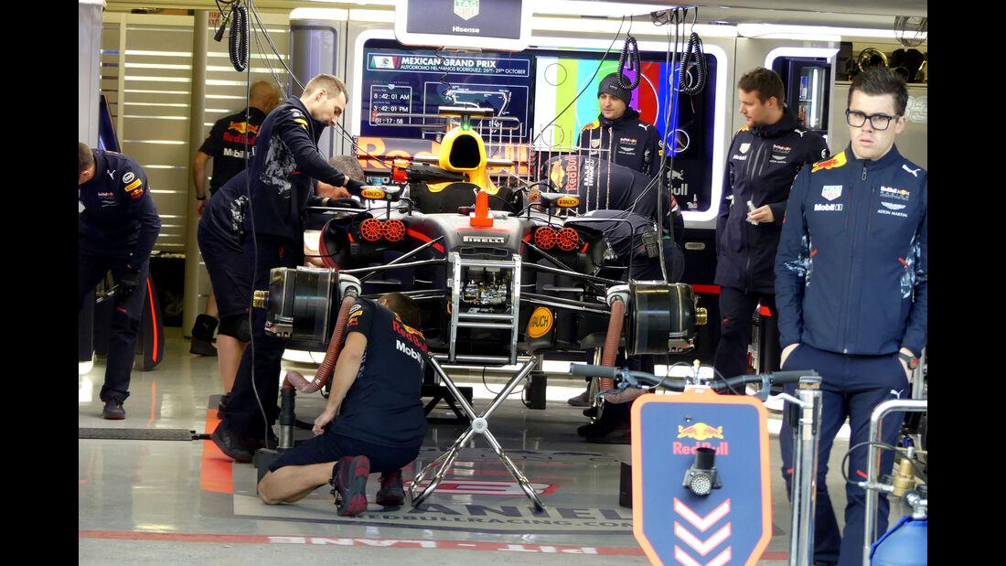 Red Bull - GP Mexiko - Formel 1 - Freitag - 27.10.2017