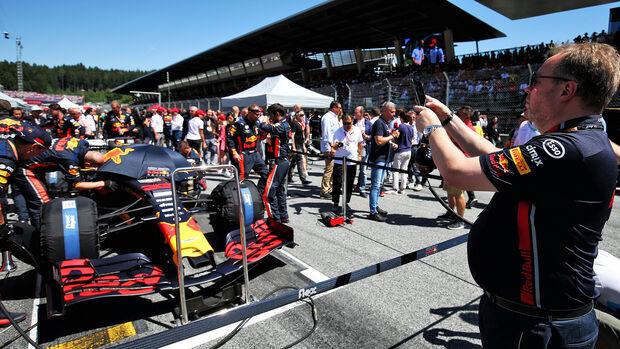 Red Bull - GP Österreich 2019 - Startaufstellung
