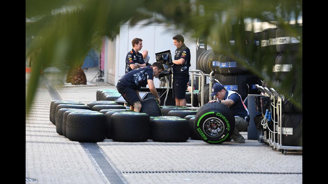 Red Bull - GP Russland - Sotschi - Formel 1 - 27. April 2017
