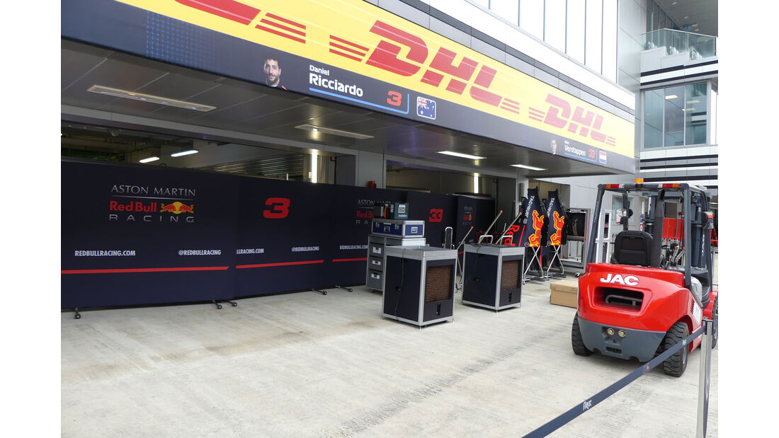 Red Bull - GP Russland - Sotschi - Formel 1 - Mittwoch - 26.09.2018