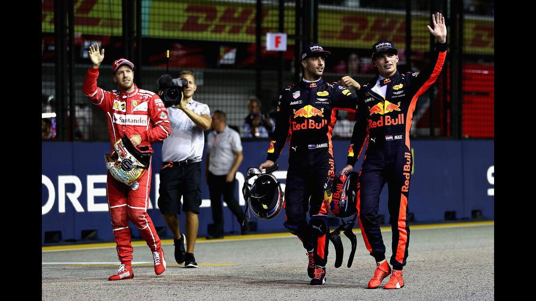 Red Bull - GP Singapur 2017