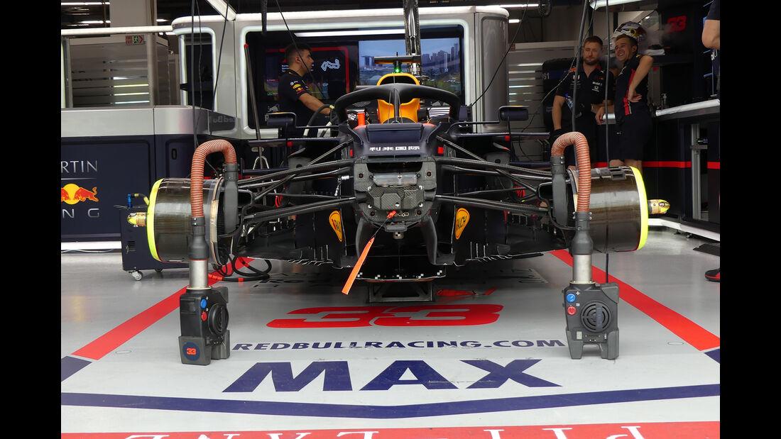 Red Bull - GP Singapur - Formel 1 - Freitag - 20.9.2019