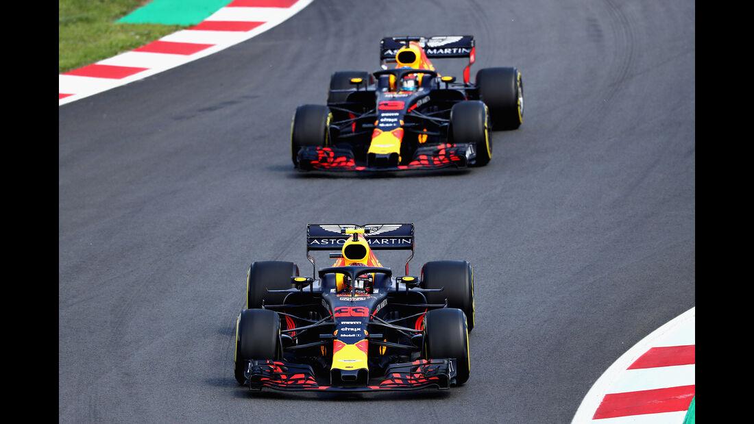Red Bull - GP Spanien 2018