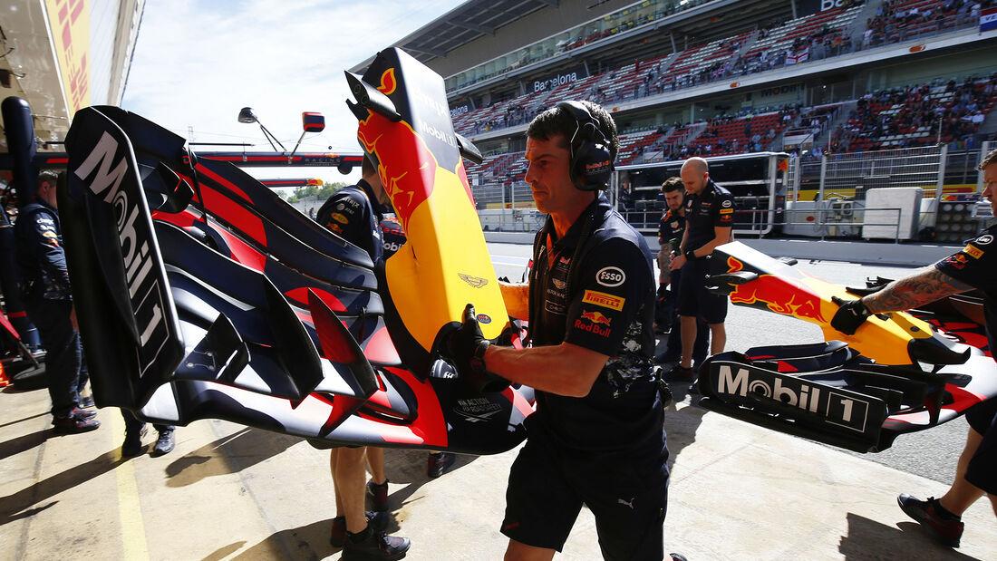 Red Bull - GP Spanien - Barcelona - 12. Mai 2017