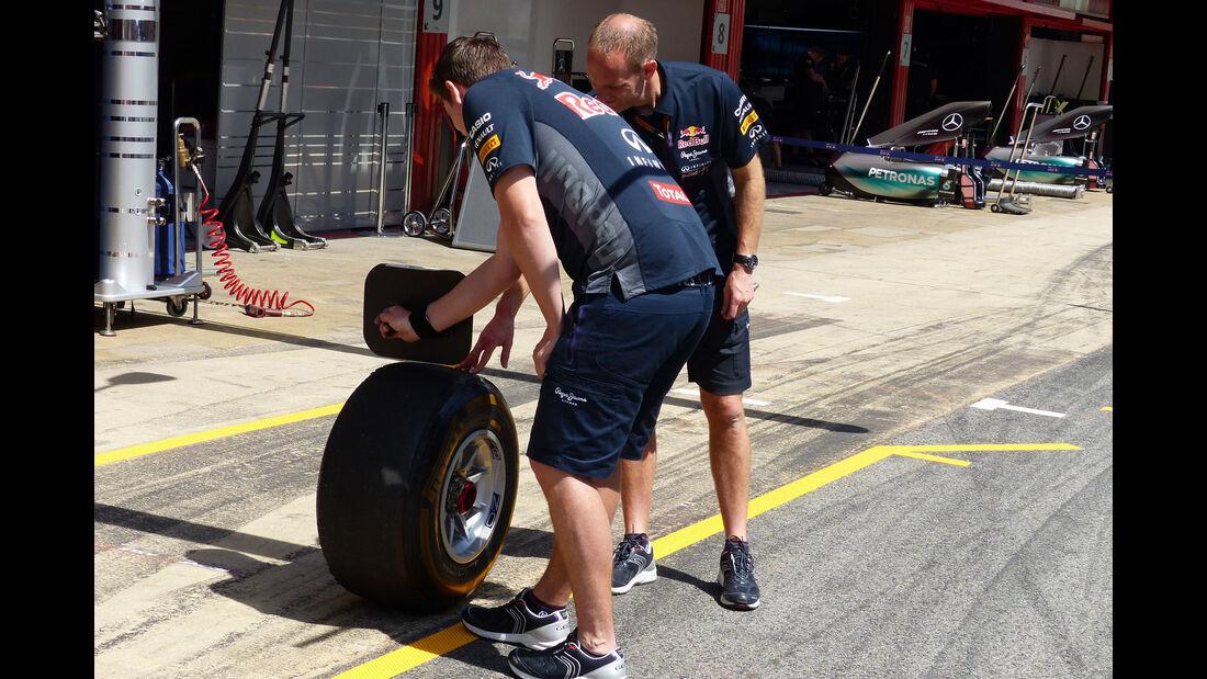 Red Bull - GP Spanien - Barcelona - Donnerstag - 7.5.2015