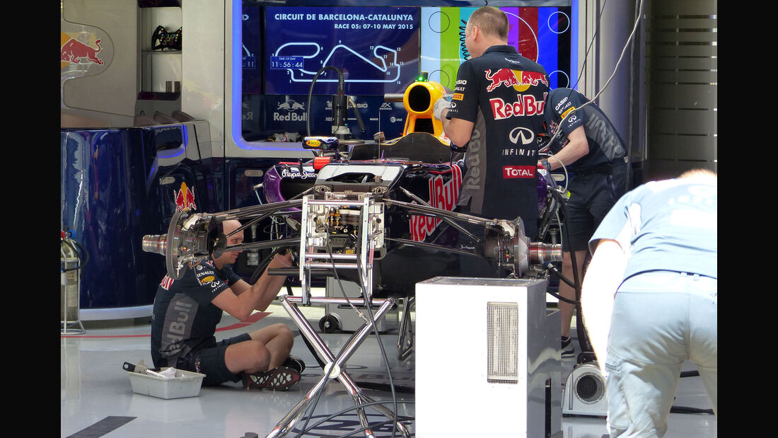 Red Bull - GP Spanien - Barcelona - Donnerstag - 7.5.2015