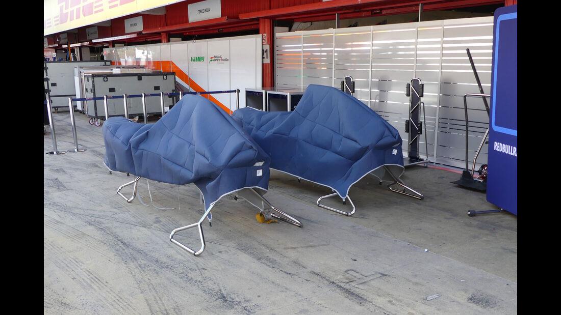 Red Bull - GP Spanien - Circuit de Barcelona-Catalunya - Mittwoch - 11. Mai 2016