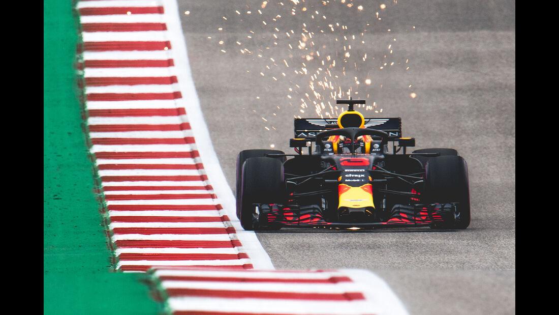 Red Bull - GP USA 2018