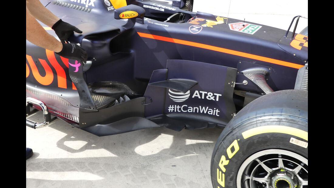 Red Bull - GP USA - Austin - Formel 1 - Donnerstag - 19.10.2017