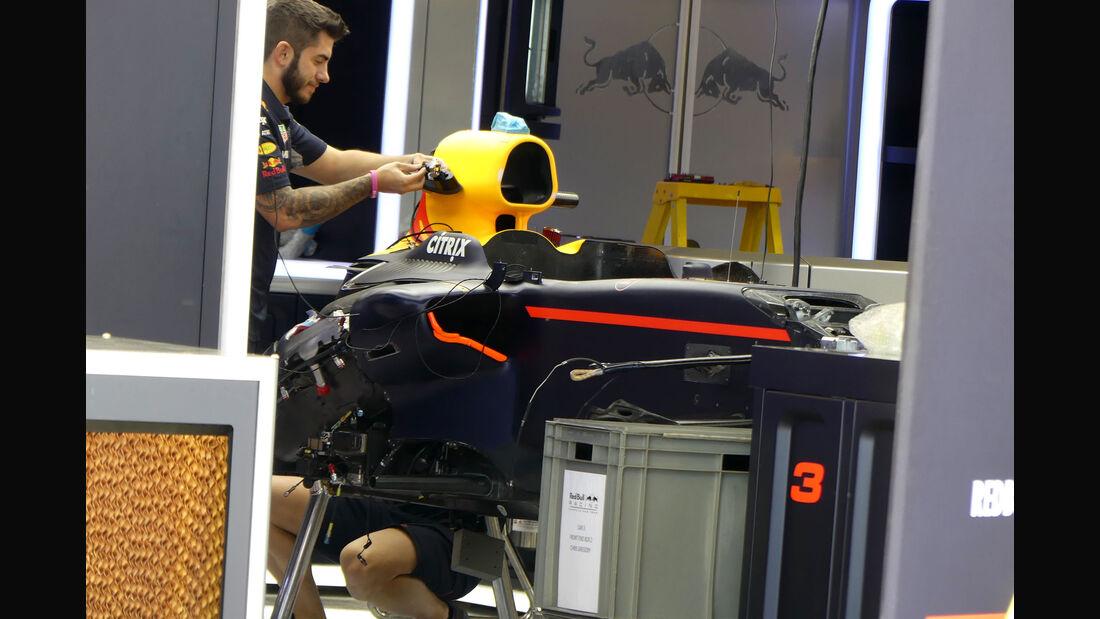 Red Bull - GP USA - Austin - Formel 1 - Mittwoch - 18.10.2017