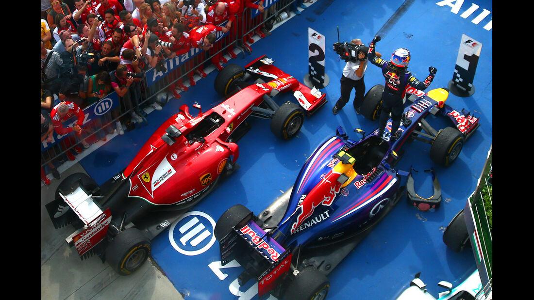 Red Bull - GP Ungarn 2014