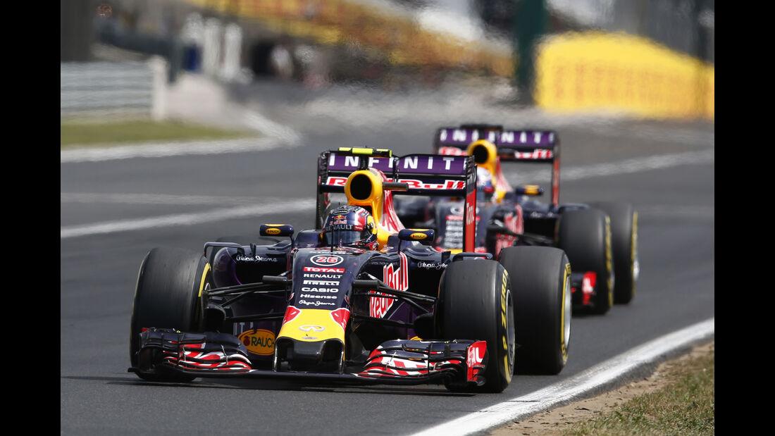 Red Bull - GP Ungarn 2015