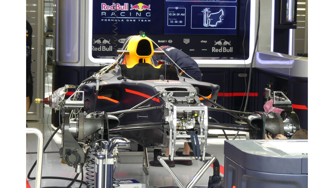Red Bull - GP Ungarn 2017 - Budapest - Formel 1 - Donnerstag - 27.7.2017