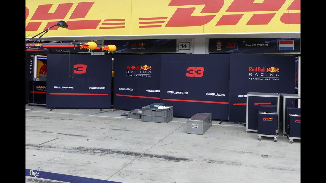 Red Bull - GP Ungarn 2017 - Budapest - Formel 1 - Mittwoch - 26.7.2017
