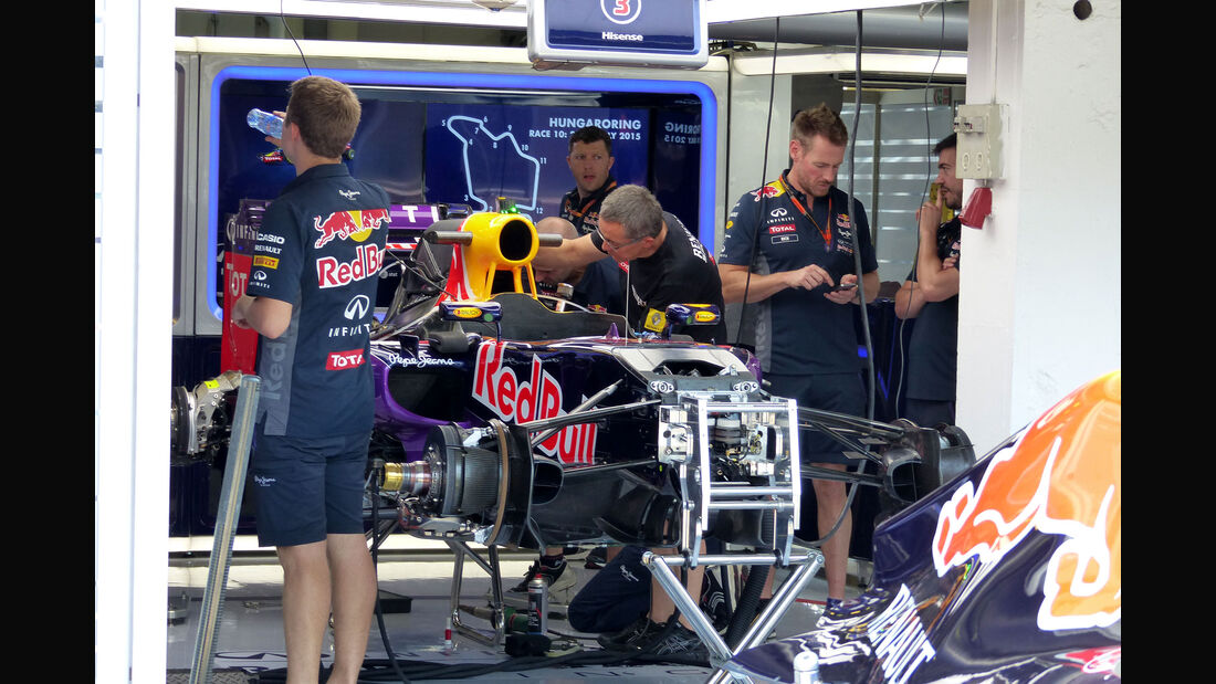 Red Bull - GP Ungarn - Budapest - Donnerstag - 23.7.2015