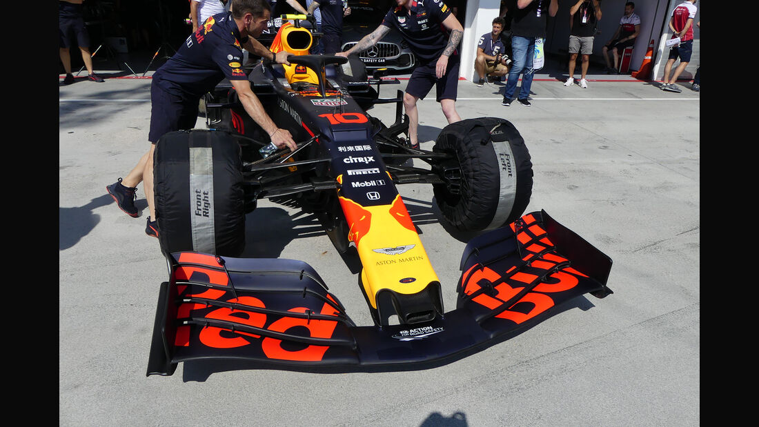 Red Bull - GP Ungarn - Budapest - Formel 1 - Donnerstag - 1.08.2019