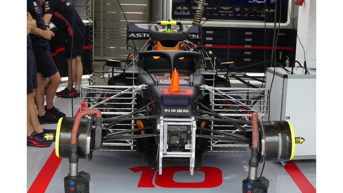 Red Bull - GP Ungarn - Budapest - Formel 1 - Freitag - 2.8.2019