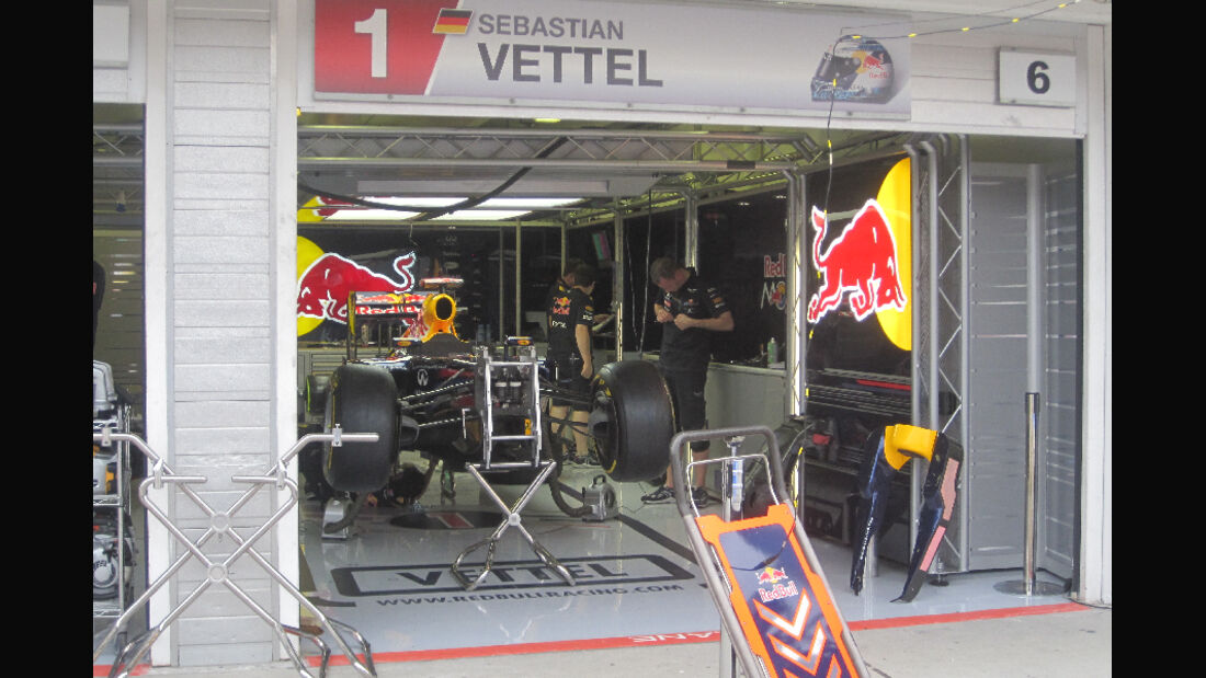 Red Bull - GP Ungarn - Formel 1 - 28.7.2011