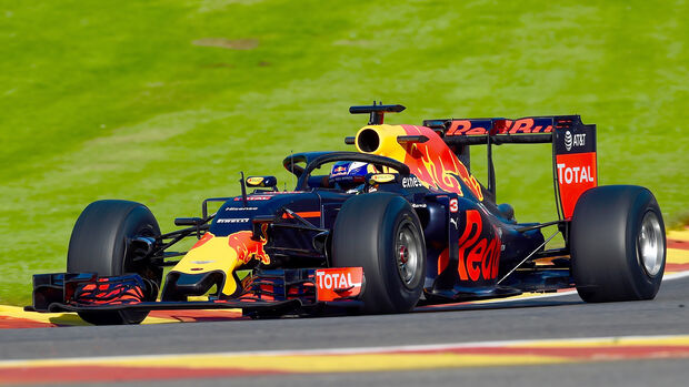 Red Bull - Halo-Test - Formel 1 - 2016