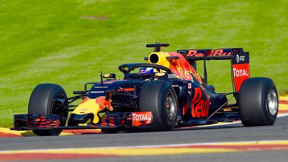 Red Bull - Halo-Test - Formel 1 - 2016