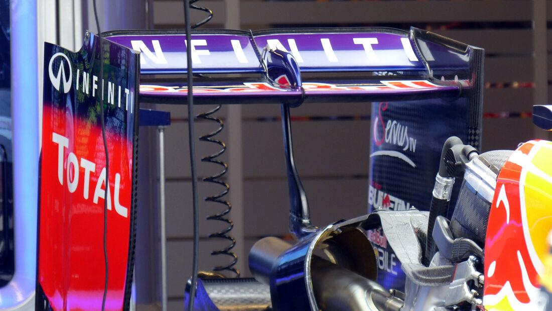 Red Bull Heckflügel - Sebastian Vettel - Formel 1 - GP USA - 1. November 2014