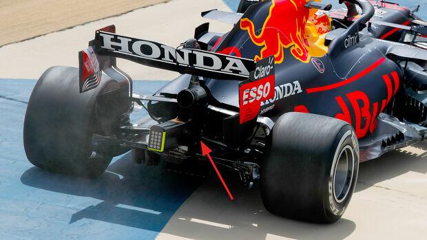 Red Bull - Hinterradaufhängung - F1-Test - Bahrain - 2021