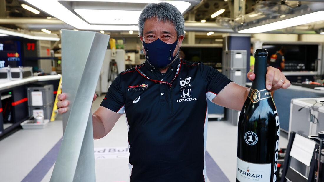 Red Bull Honda - Formel 1 - GP Aserbaidschan 2021