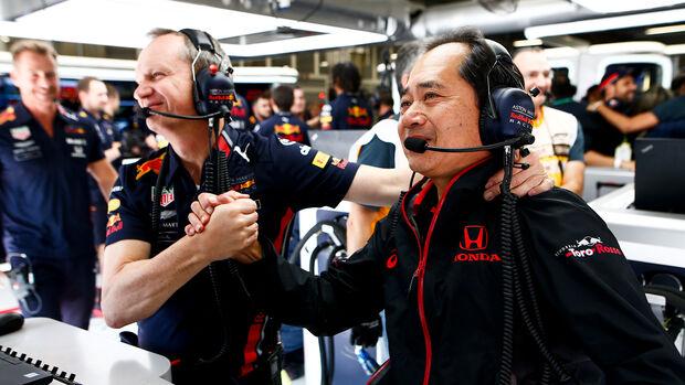 Red Bull Honda - Formel 1 - GP Brasilien - Sao Paulo - 16. November 2019