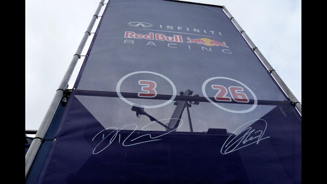 Red Bull - Impressionen - Jerez - Formel 1-Test - 30. Januar 2015