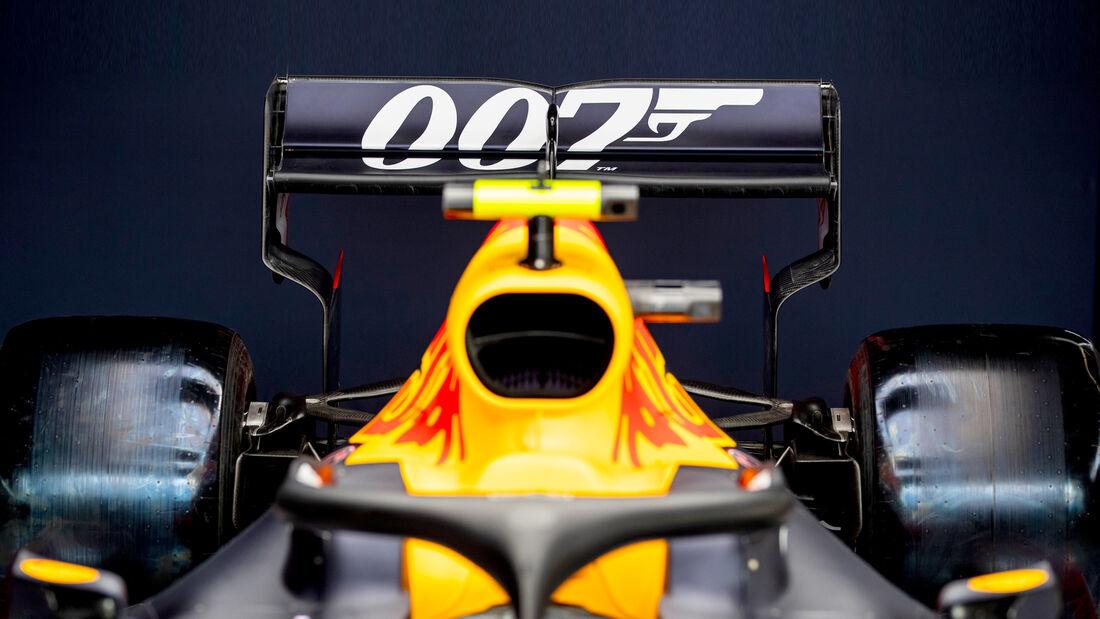 Red Bull - James Bond 007 - GP England 2019
