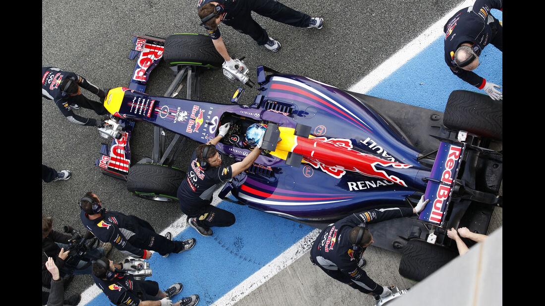 Red Bull - Jerez-Test 2014