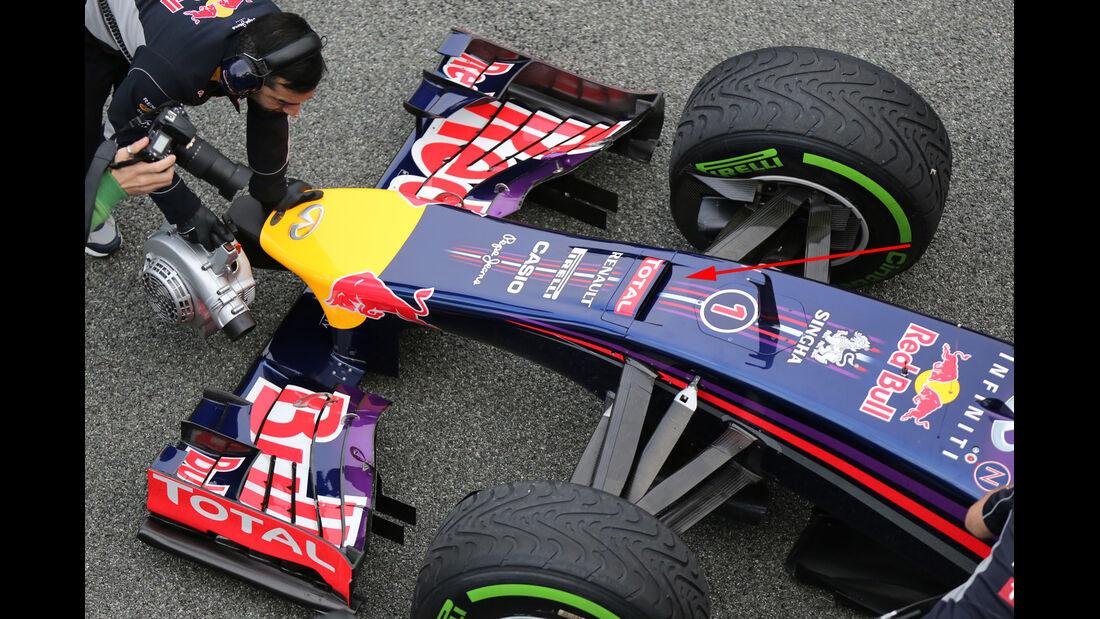 Red Bull - Jerez-Test - Formel 1 - 2014