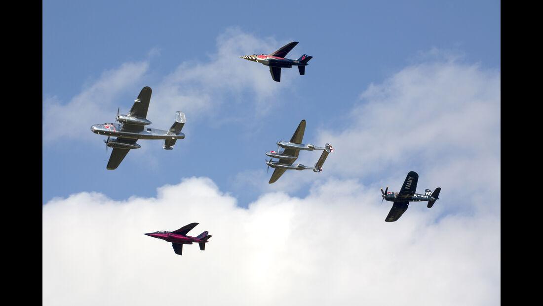 Red Bull Luft-Flotte