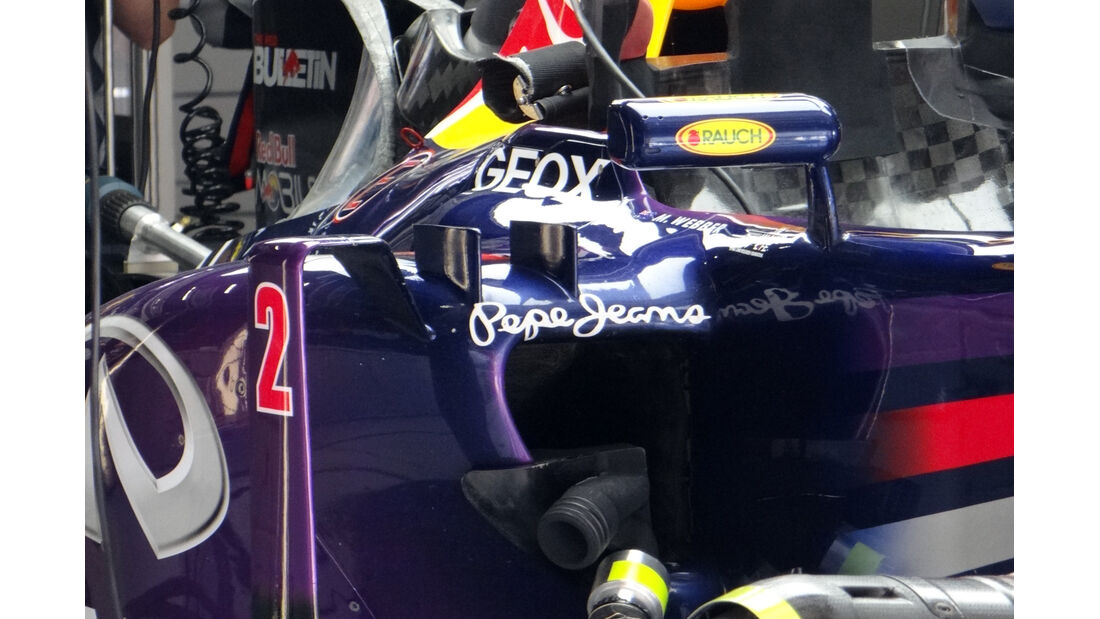 Red Bull Mark Webber - Formel 1 - GP China - 12. April 2013