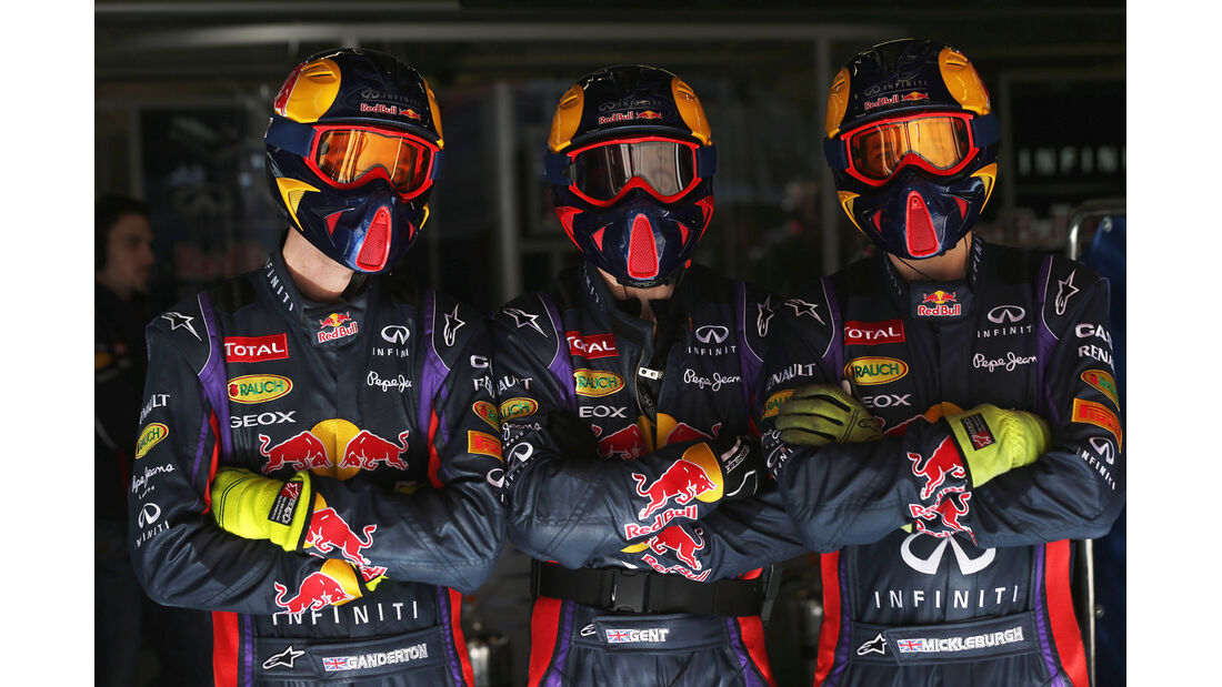 Red Bull Mechaniker 2013