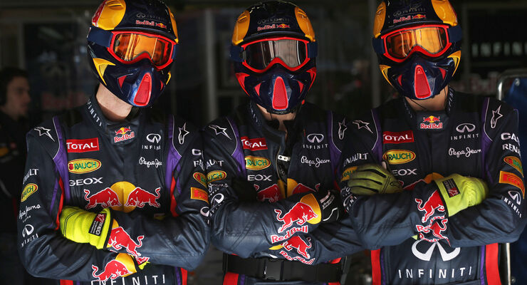 Red Bull Mechaniker 2013