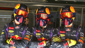 Red Bull - Mechaniker - Boxencrew - Formel 1 2013