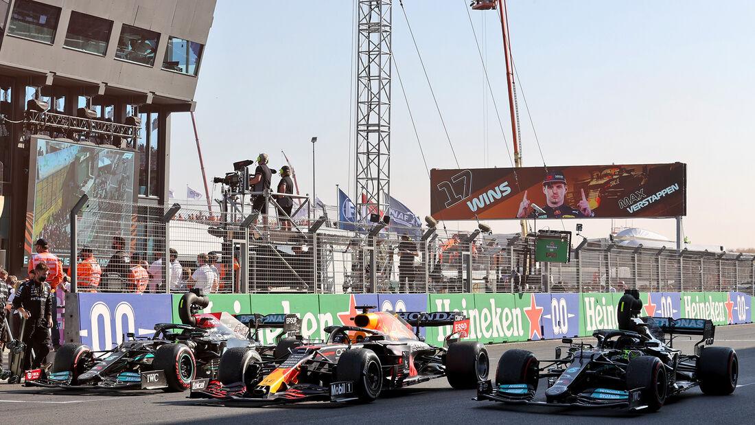 Red Bull & Mercedes - Formel 1 - GP Niederlande - Zandvoort - 2021