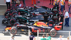 Red Bull - Mercedes - Formel 1 - GP Spanien - Barcelona - Qualifying - Samstag - 15. August 2020