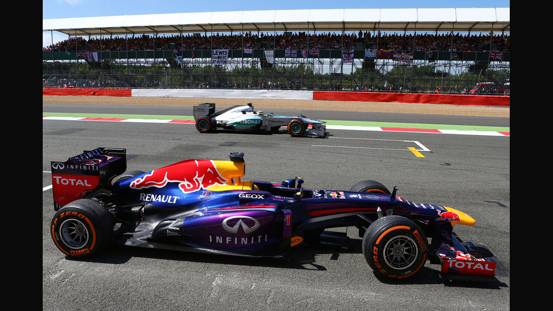 Red Bull Mercedes GP England 2013