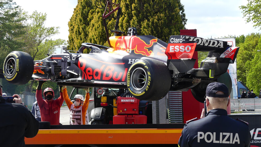 Red Bull - Panne - Imola 2021