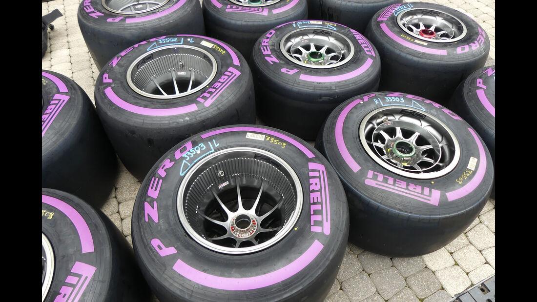 Red Bull - Pirelli-Reifen - GP Russland - Sotschi - Formel 1 - Mittwoch - 26.09.2018