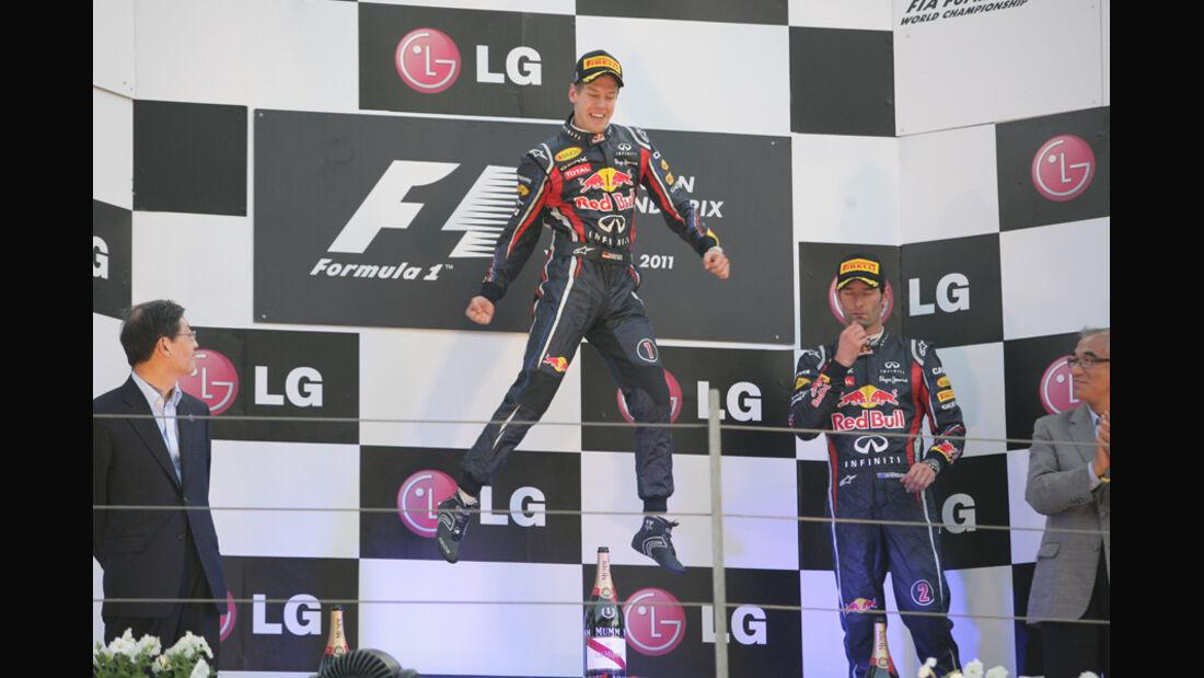 Red Bull, Podest