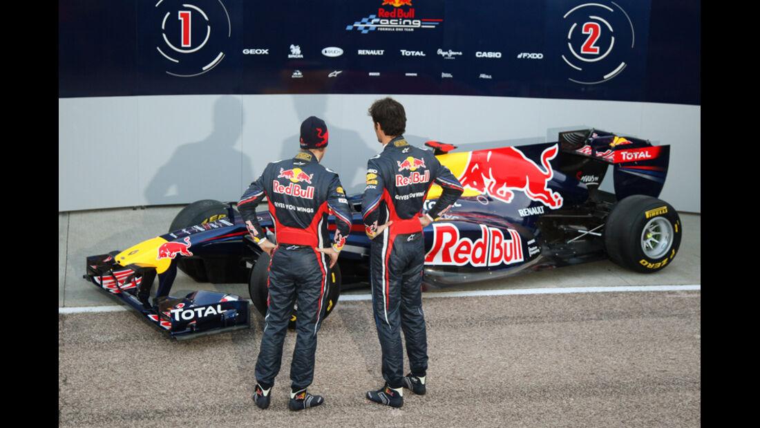 Red Bull Präsentation 2011