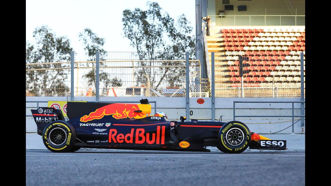 Red Bull - Profil - F1 - Barcelona Test 2017