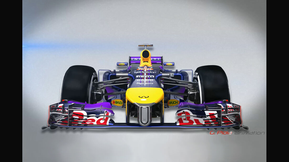 Red Bull RB10 - Piola F1 Technik 2014